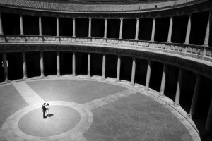 Reportaje de boda en la Alhambra (Granada)
