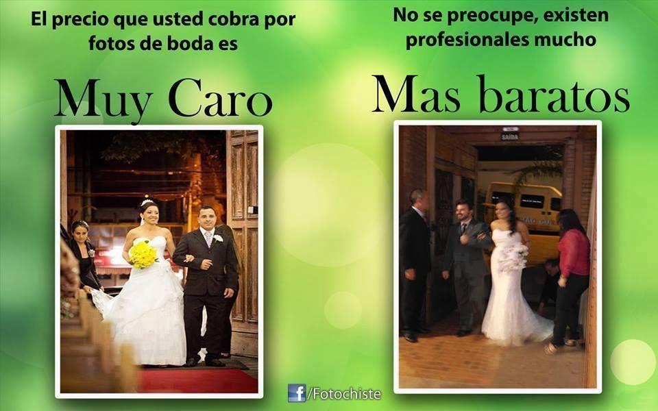 fotógrafos de bodas baratos