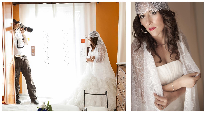 fotografía boda making of Alejandro Gonzalo