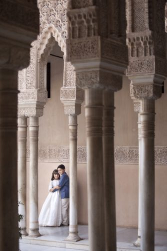 reportaje comunión alhambra