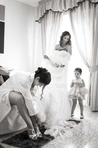fotografía boda novia