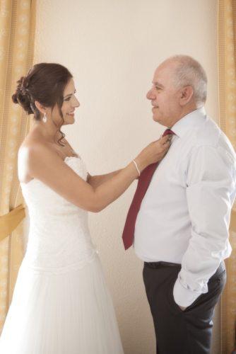 foto boda novia y padre