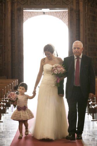 fotos boda llegada iglesia