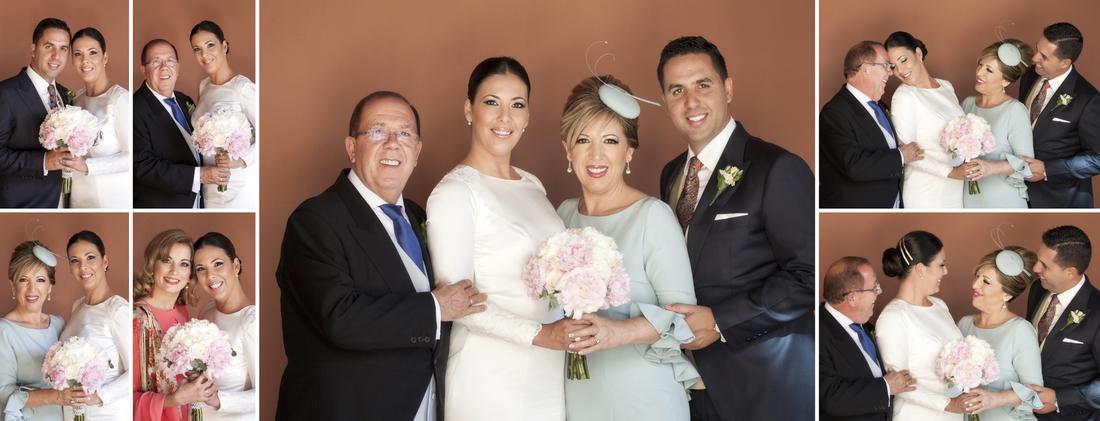 album de fotos de reportaje de boda preparativos novia