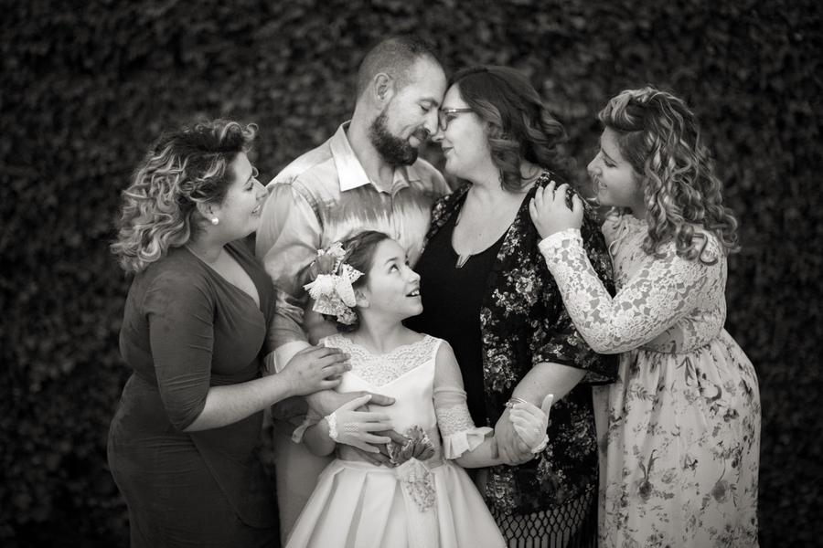 fotos comunión familia granada