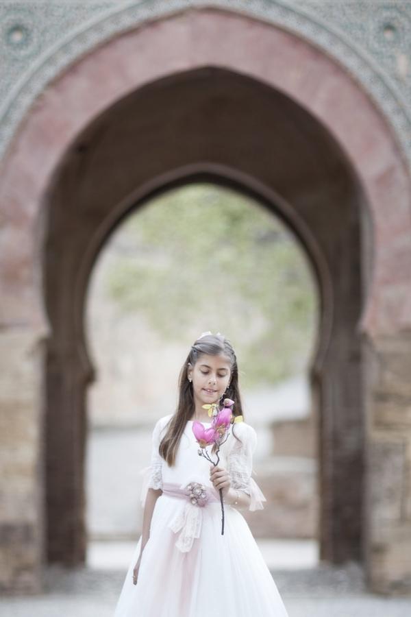fotos comunión niña Alhambra