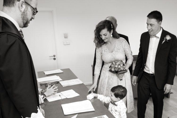 fotos de boda de Sofía y Adrián. Ceremonia