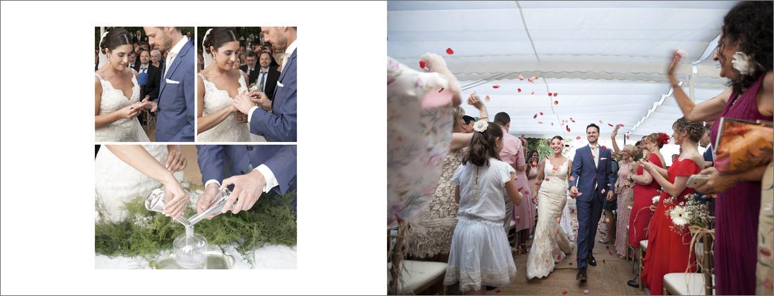 album boda granada ceremonia en La Chumbera