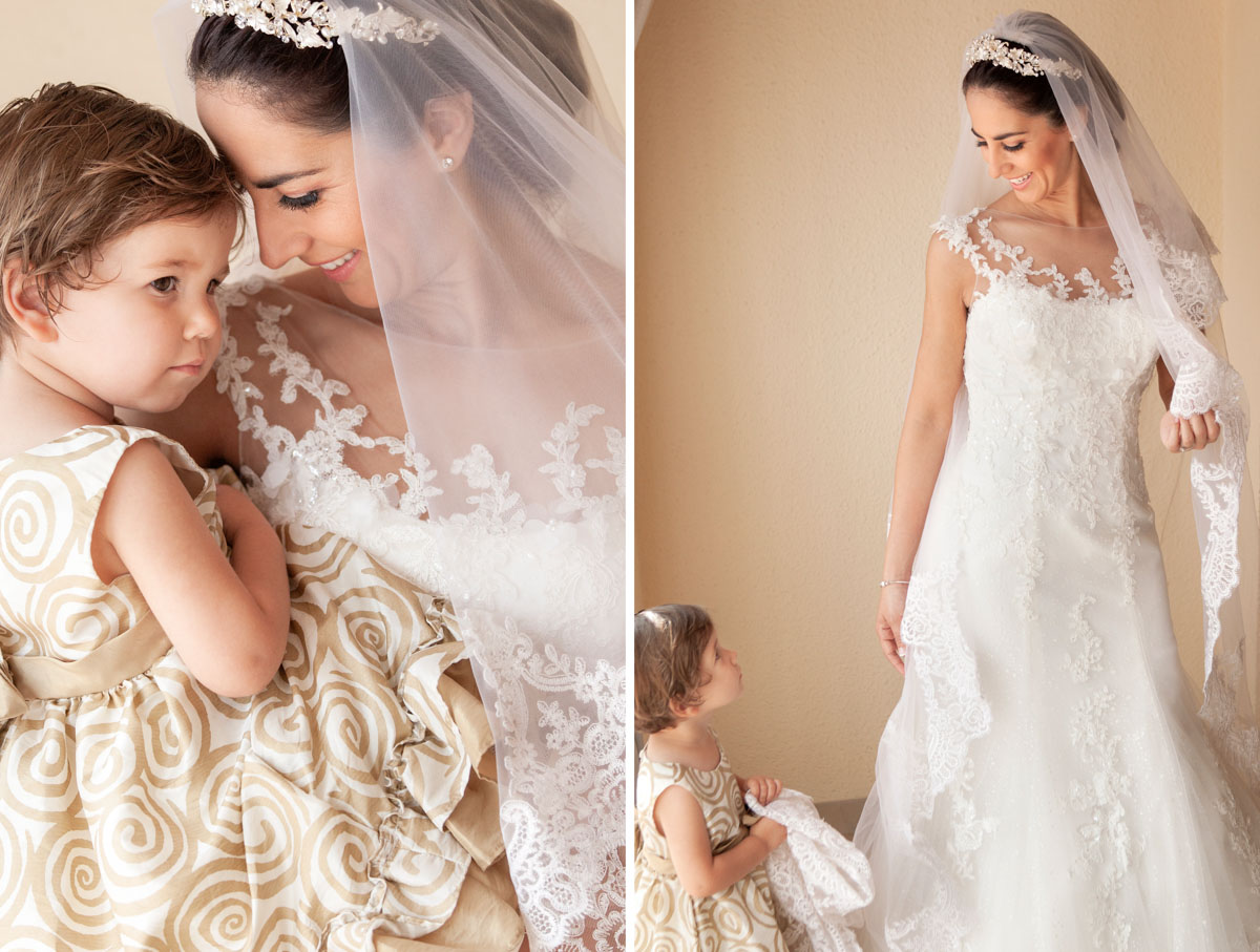 fotografias de boda. Preparativos de la novia.
