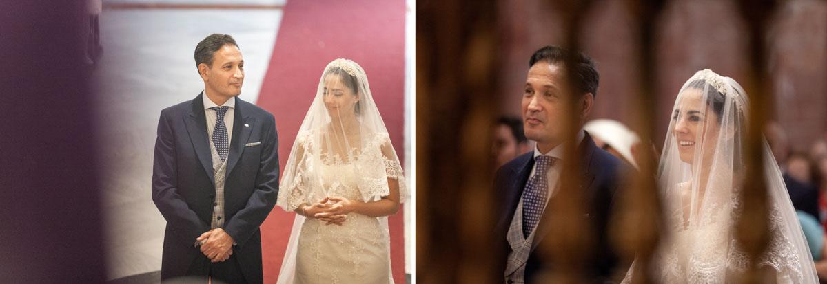 fotos de boda en iglesia Jesus del gran poder.