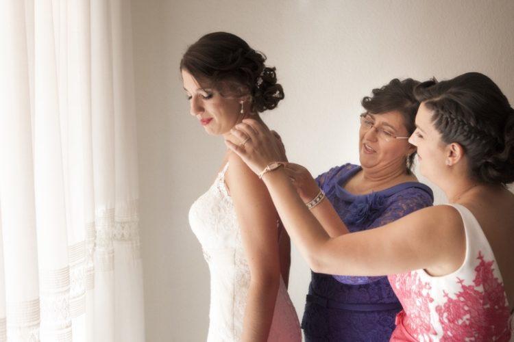 fotografias de boda en casa de la novia. Granada
