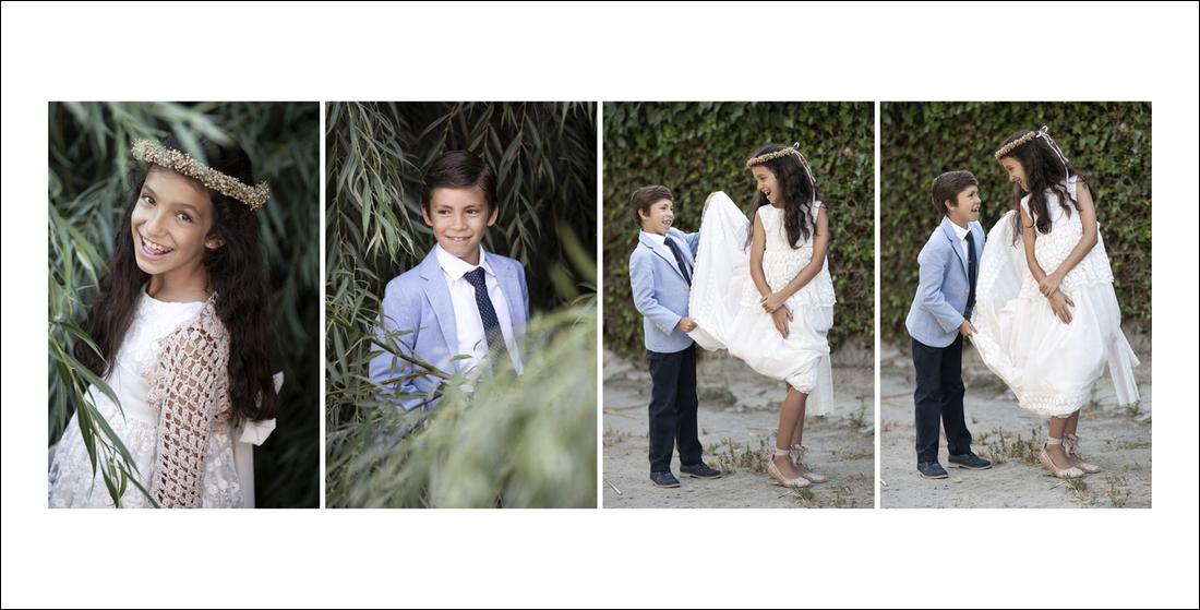 fotos comunion playa motril hermanos