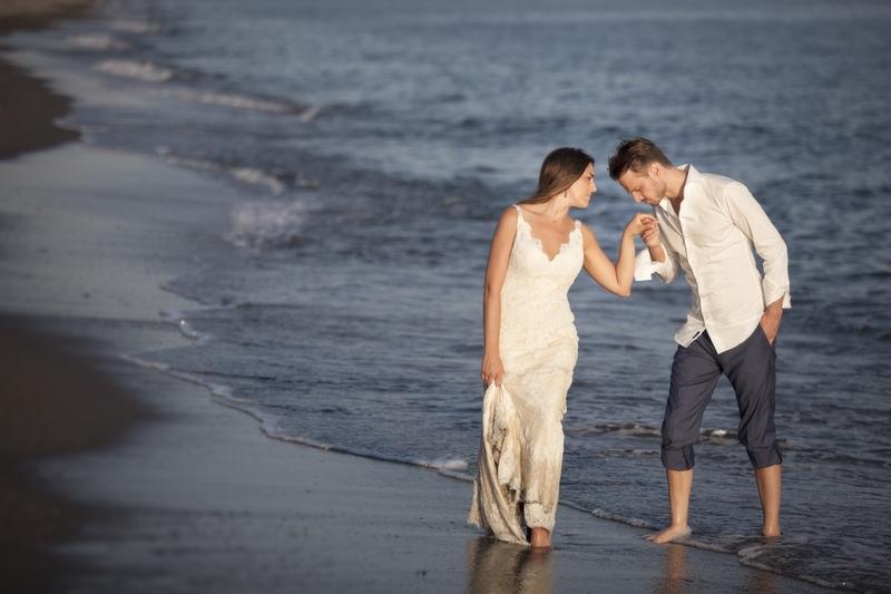 fotos de postboda en la playa de Motril