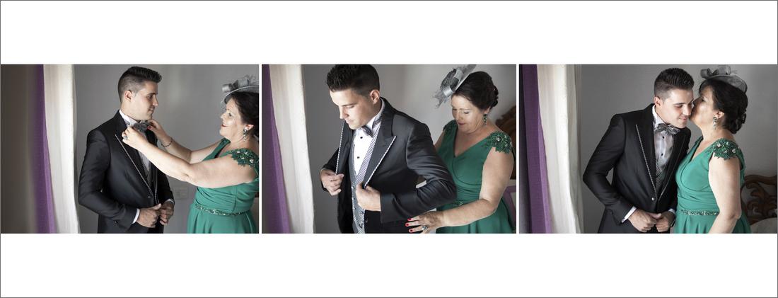 diseño album boda casa novio
