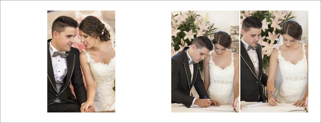 album de boda iglesia