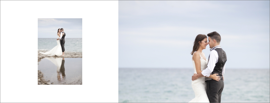 album de reportaje de boda granada playa
