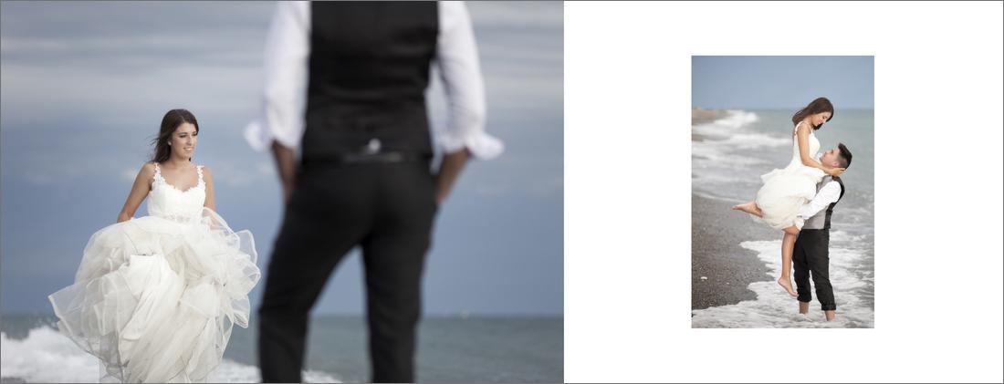 album de reportaje de boda motril granada playa