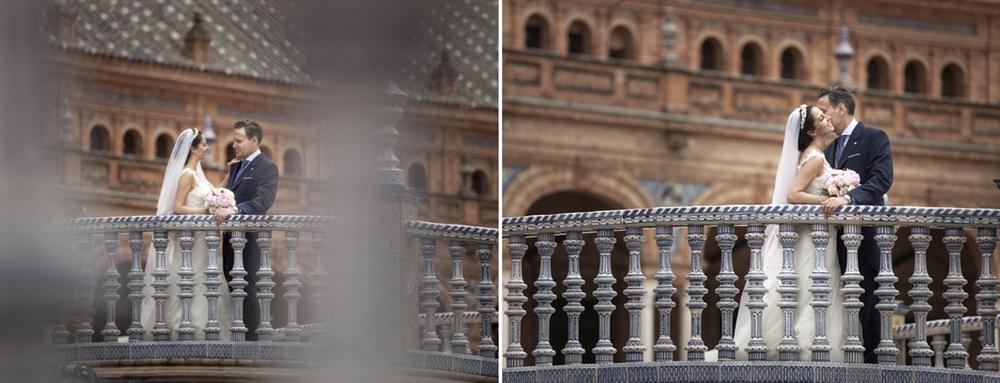 album de boda. fotos boda plaza españa Sevilla