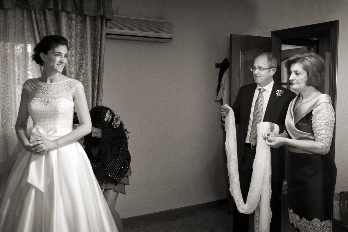fotos de bodas preparativos novia Alejandro Gonzalo