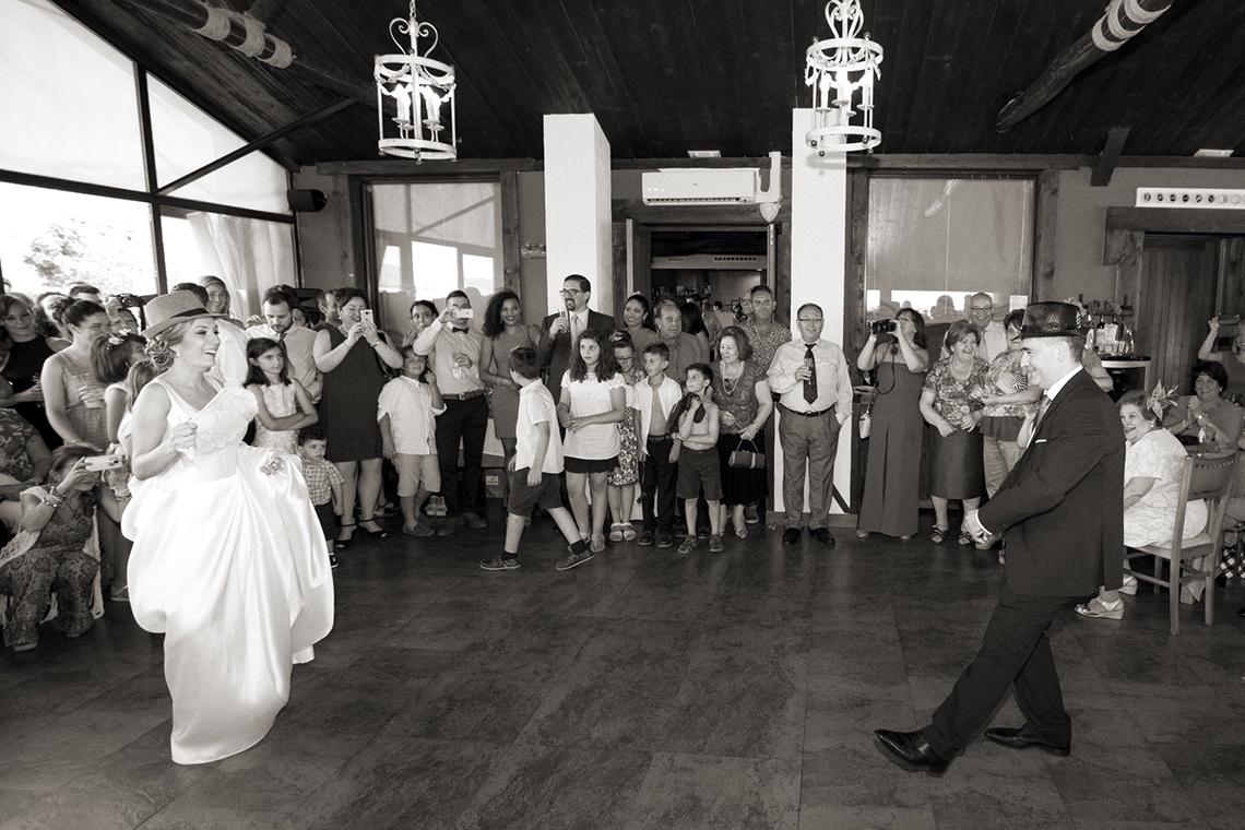 fotografia de boda baile