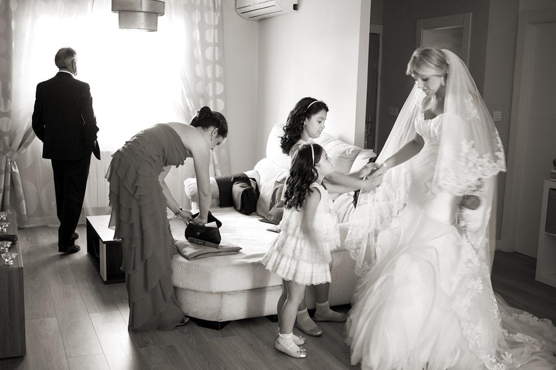 reportaje de boda. preparativos novia.