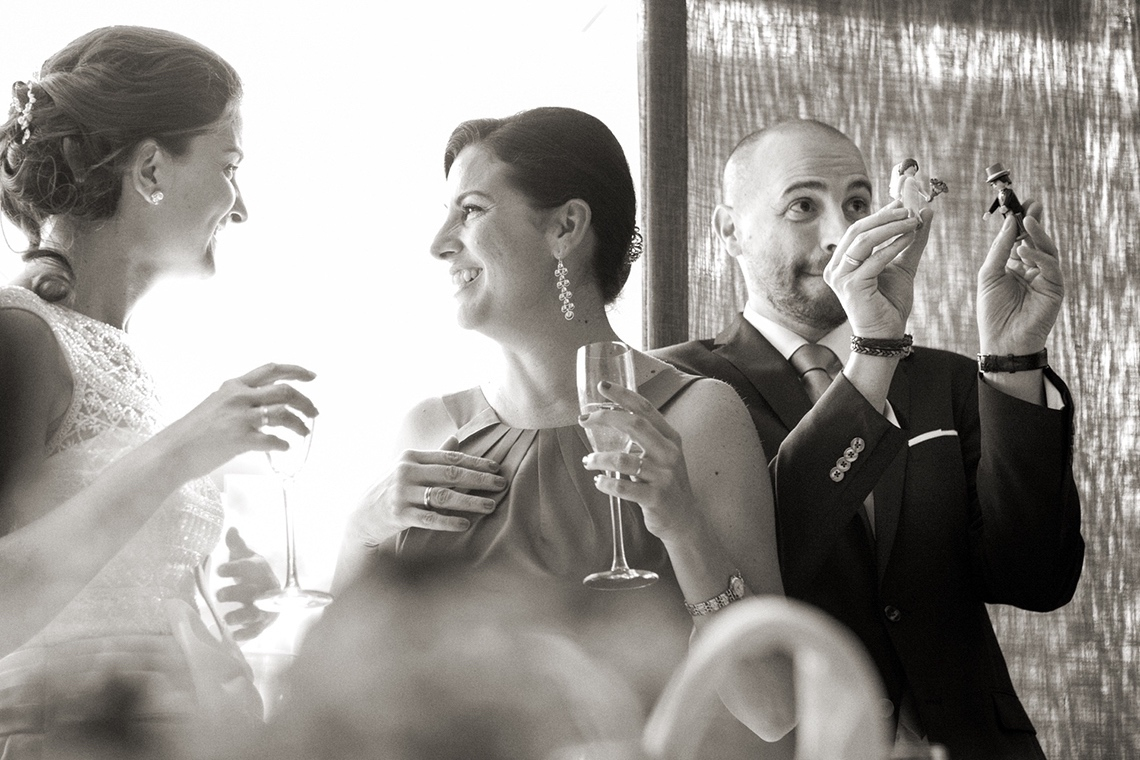 celebración de boda.