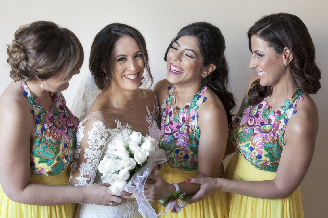 damas de honor. boda