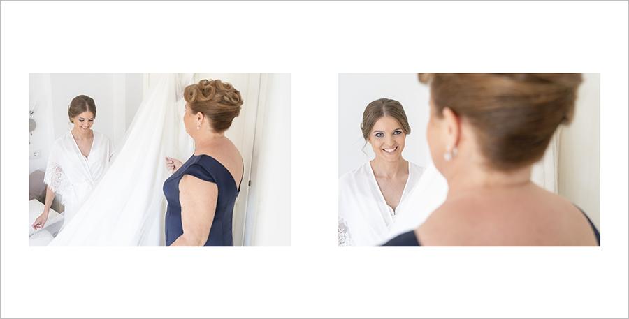 f fotos de boda preparativos de novia