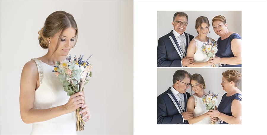 fotos de boda preparativos de novia