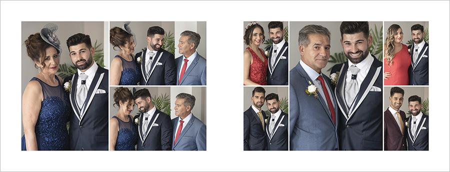 Reportaje de boda. Preparativos novio