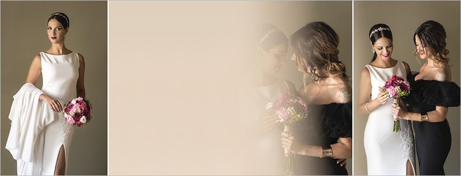 Album de boda. Preparativos novia