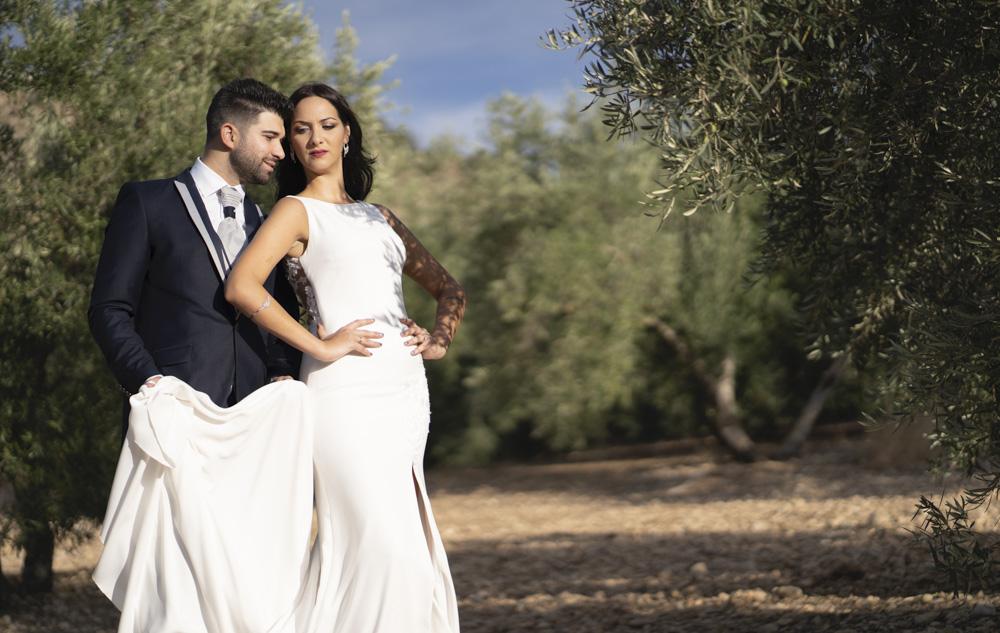 fotos boda novios granada