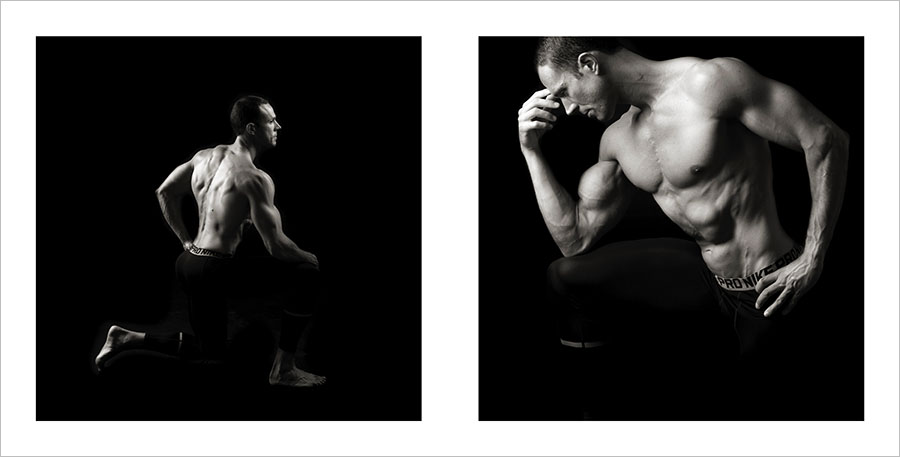 fotos blanco y negro fitness
