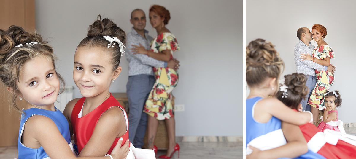 fotos de bautizo en Granada. Preparativos en casa. Alejandro Gonzalo