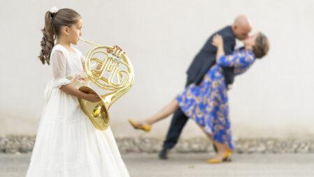 foto de comunion con instrumento