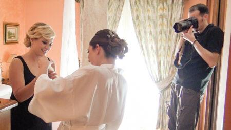 preparativos de boda a novia