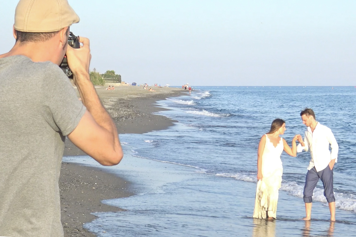 fotos de boda en playa motril
