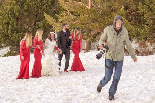 fotos de boda en sierra nevada