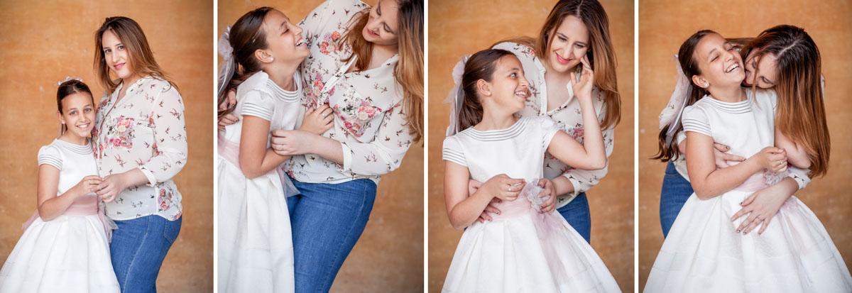 fotos de comunión de niñas en Alhambra. Alejandro Gonzalo Fotógrafo