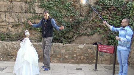 reportaje de comunión en la Alhambra