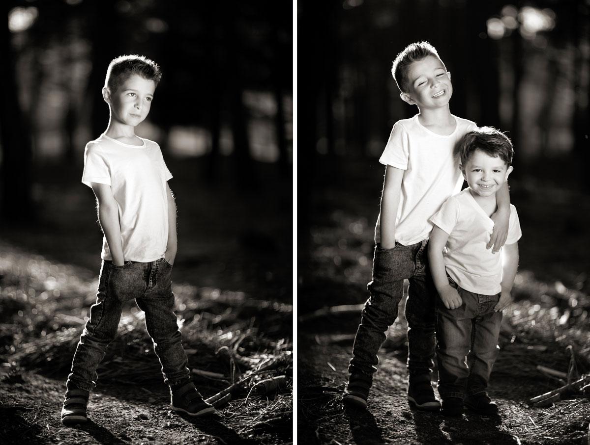 fotos niños en blanco y negro